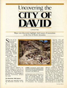 city of david plain truth 81