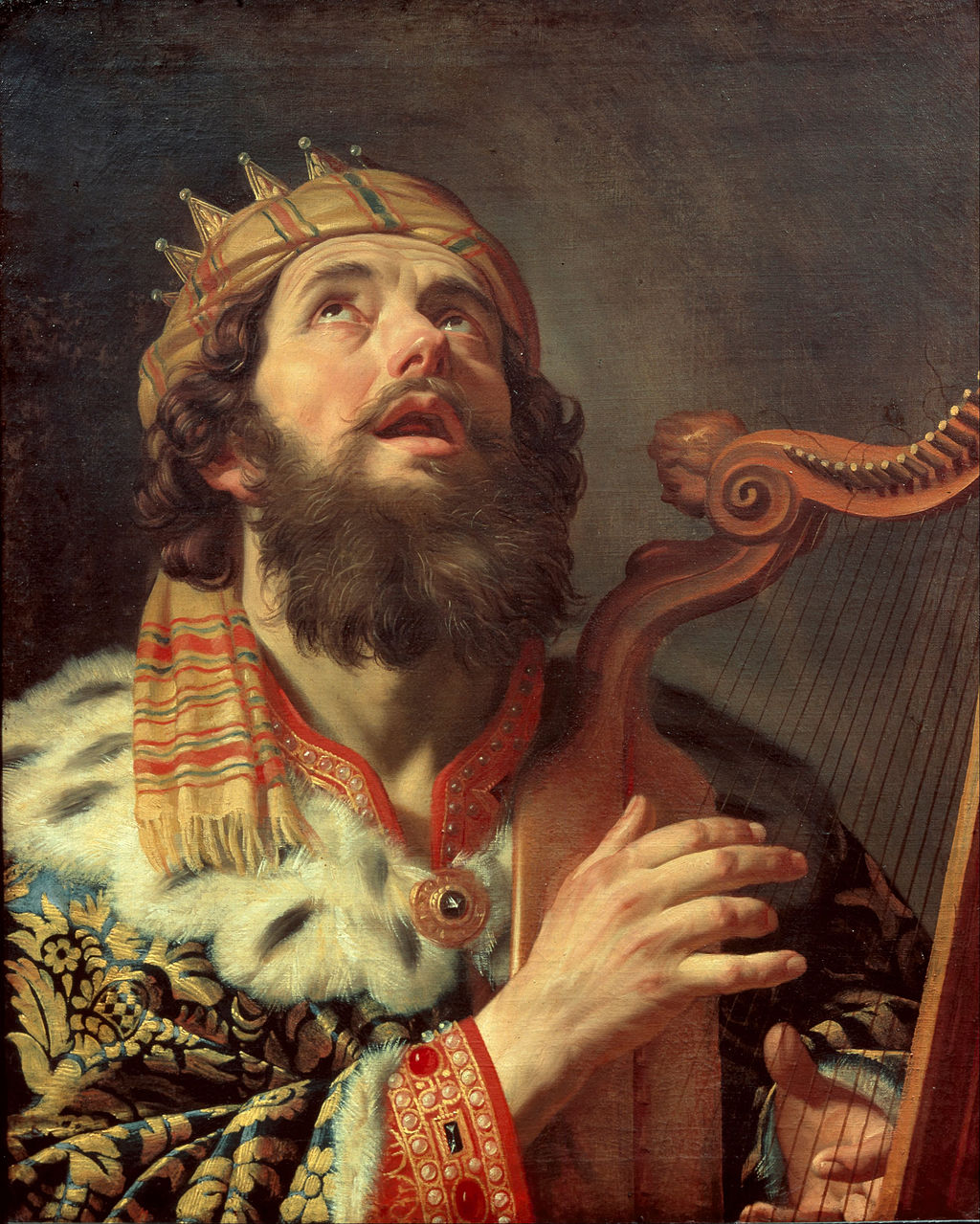 1024px-Gerard_van_Honthorst_-_King_David_Playing_the_Harp_-_Google_Art_Project