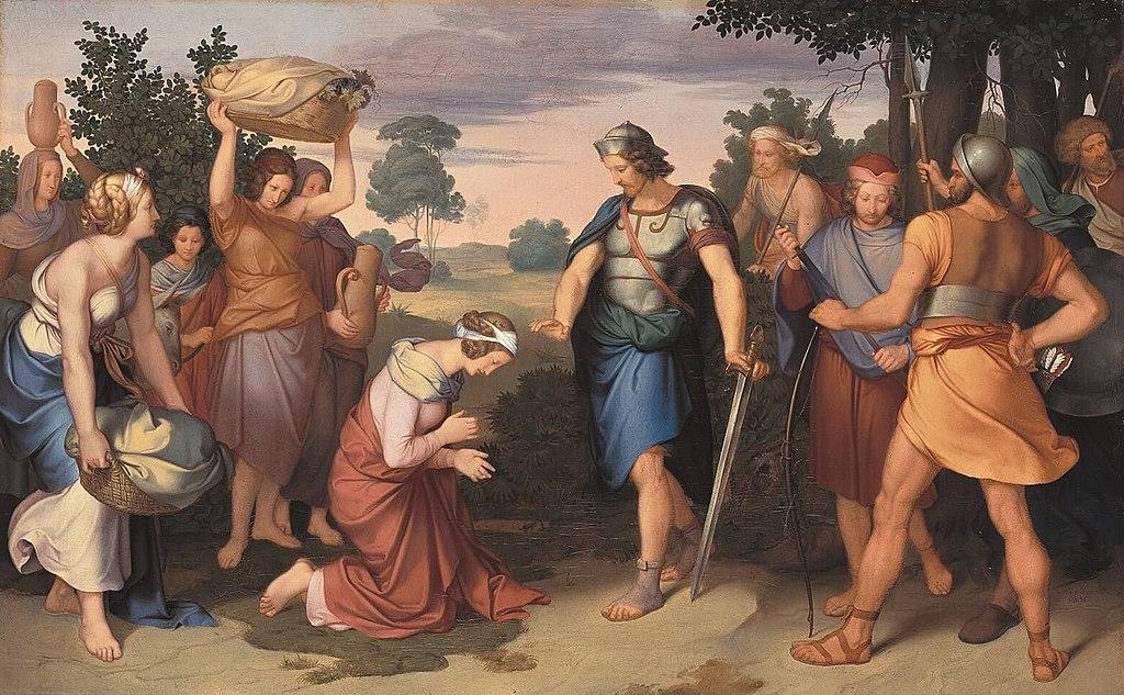 1024px-Moritz_von_Schwind_-_Abigail_vor_David_-_13363_-_Bavarian_State_Painting_Collections