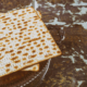 Jewish matza on Passover unleavened bread
